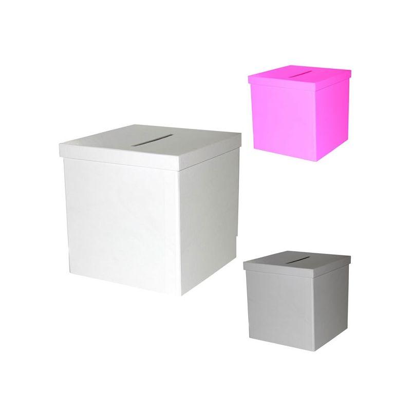 urne mariage forme cube pratique et pas cher. Black Bedroom Furniture Sets. Home Design Ideas