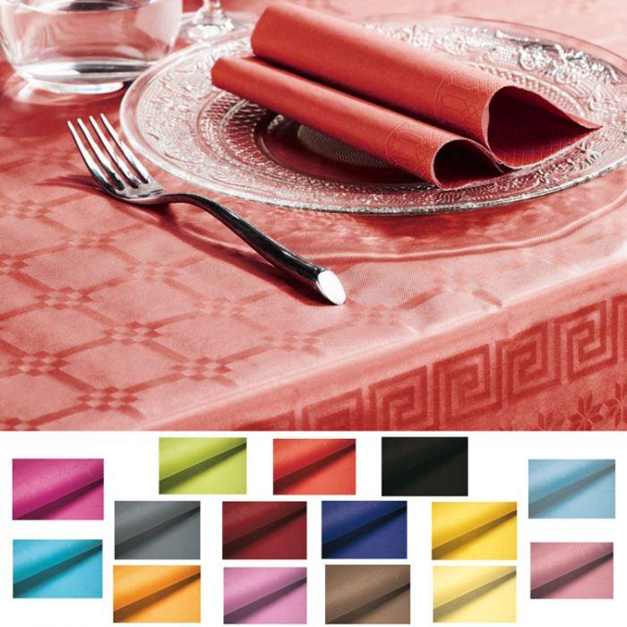 rouleau nappe papier jetable couleur pas cher 5m. Black Bedroom Furniture Sets. Home Design Ideas