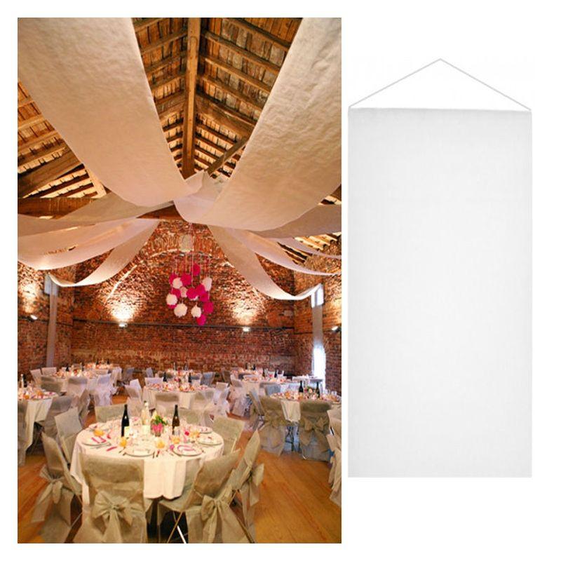 tenture turquoise salle mariage 12 m tres d coration de salle