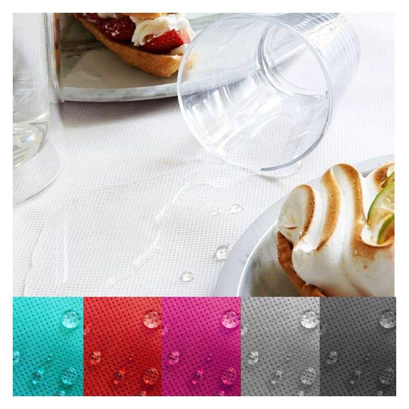 Nappe table Spunbond waterproof effet tissu