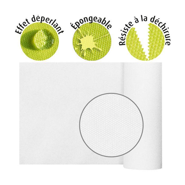 nappe spunbond waterproof effet tissu reutilissable