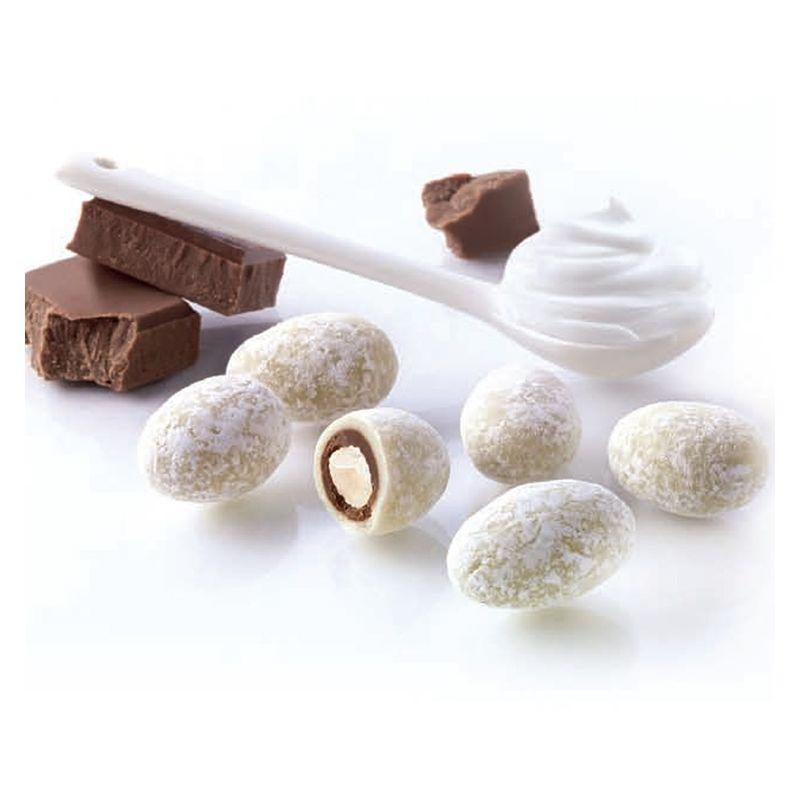 Dragées amande chocolat et crème fouettée