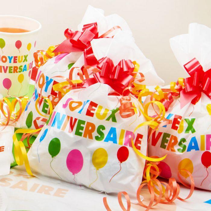 Faire Des Sacs Pour Bonbons : Sac ? bonbon joyeux anniversaire les