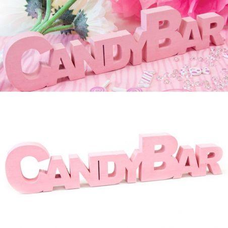 Centre de table CANDY BAR - Rose
