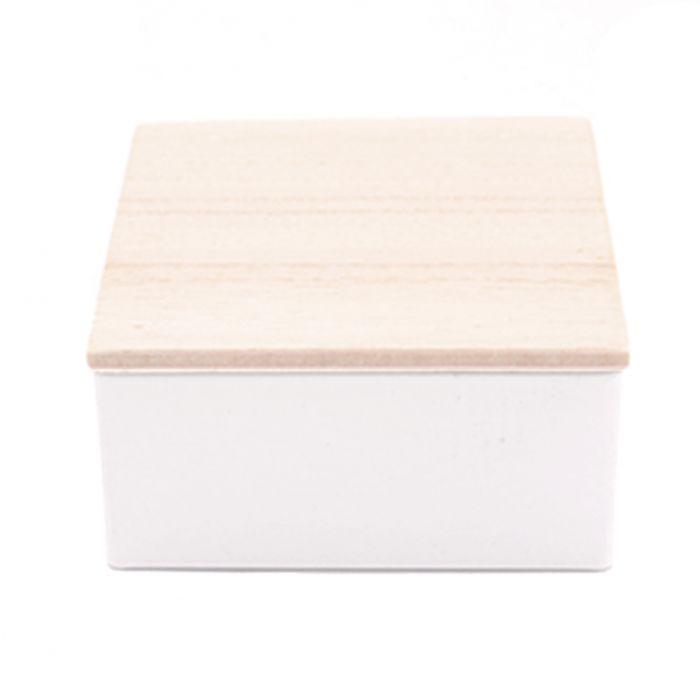 bo tes drag es personnalis e bo te carr avec couvercle en bois. Black Bedroom Furniture Sets. Home Design Ideas