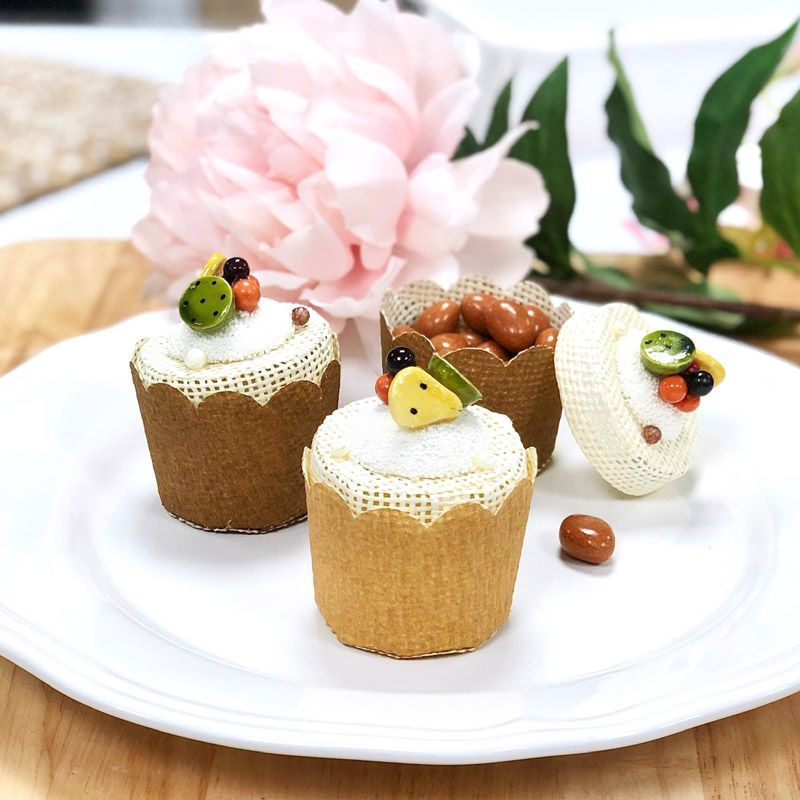 Panier dragées Cake fruit (12psc)