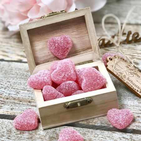 Coeurs de framboise 230 pièces
