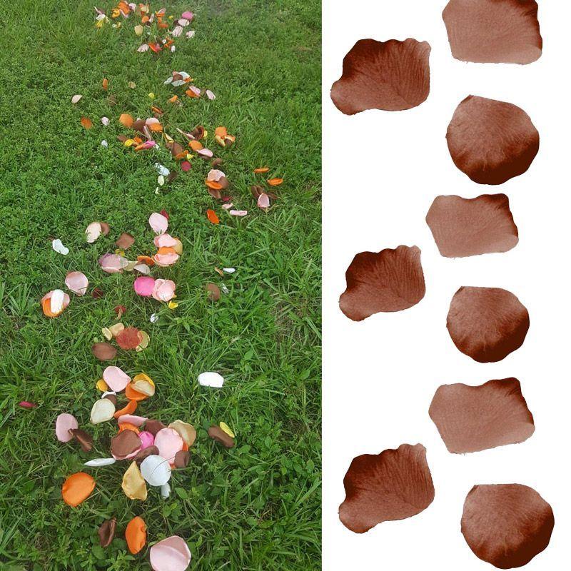 120 pétales de rose - Chocolat
