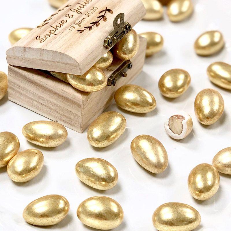 1kg Dragée amande dorée pas cher
