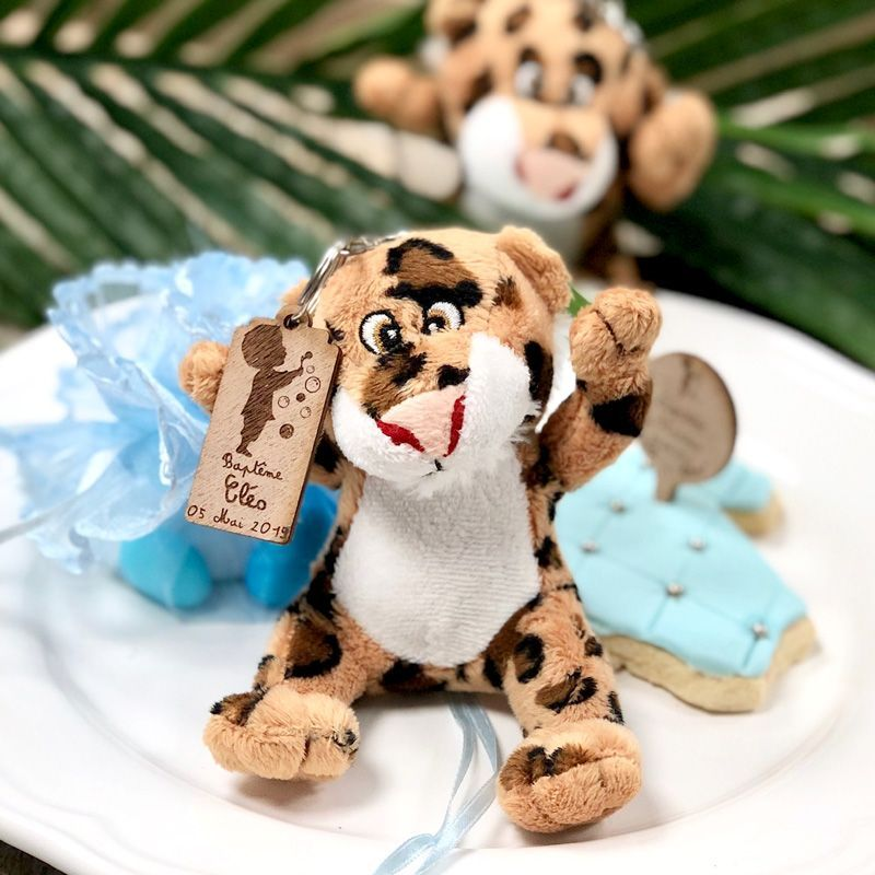 Sujet dragée baptême - Roi Lion