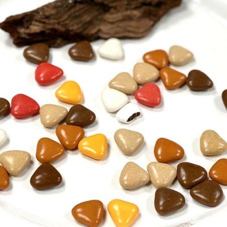 Dragées Coeurs chocolat thème Praliné 500gr