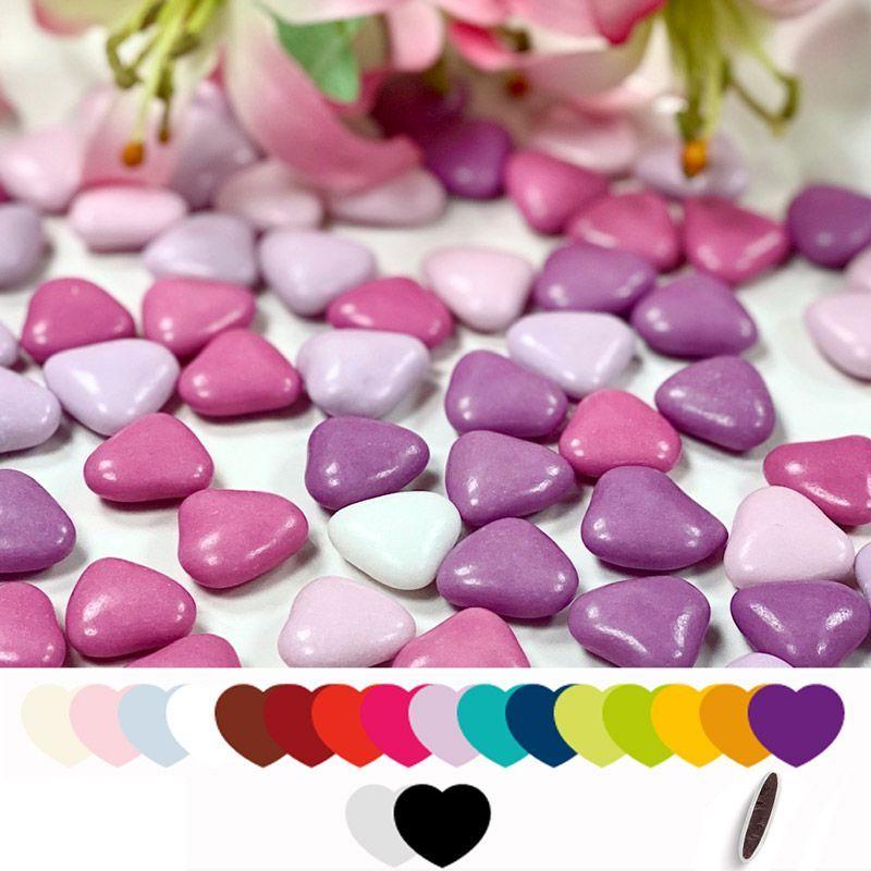 Dragées Coeurs chocolat pas cher 500gr
