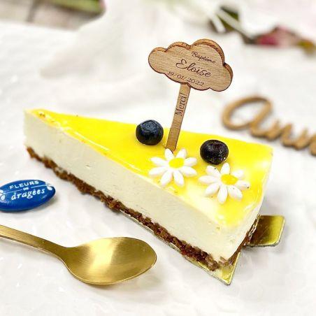 Étiquette Pic gâteau Personnalisé - Nuage