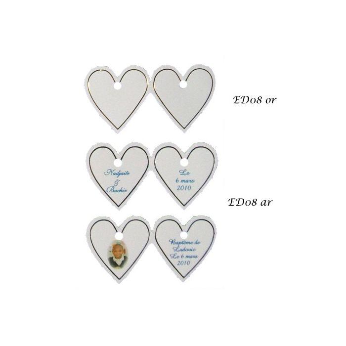 Extrem Etiquettes dragées et Stickers - Contenant Dragées OC64