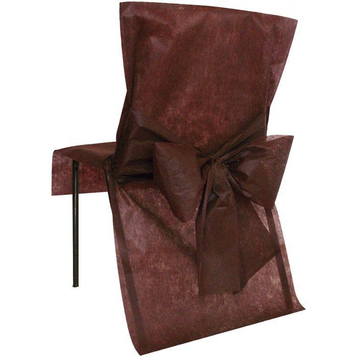 housse de chaise avec noeud d corations de salle vendus. Black Bedroom Furniture Sets. Home Design Ideas